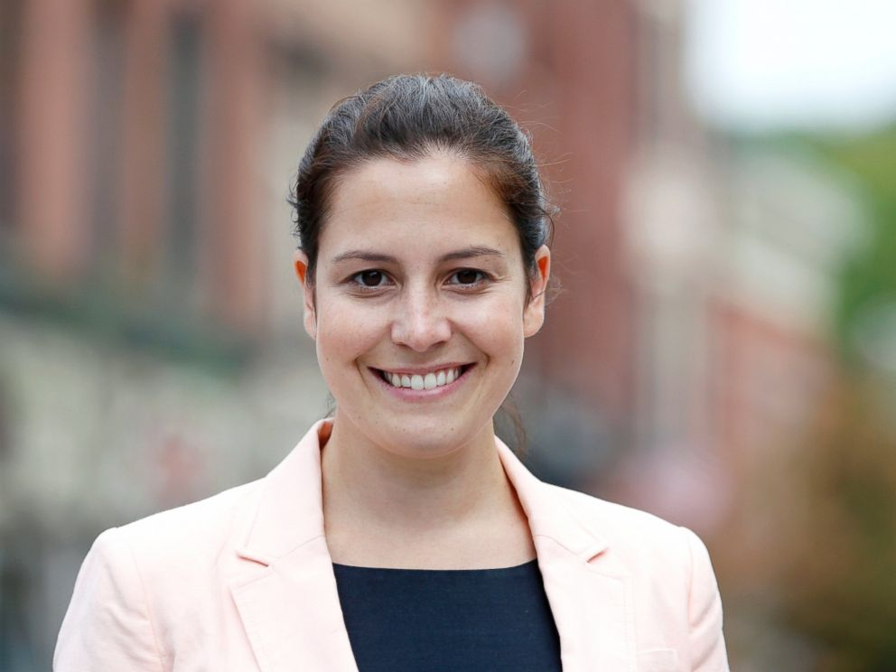 PHOTO: Republican Congressional candidate Elise Stefanik poses, Aug. 27, 2014, in Ballston Spa, N.Y.