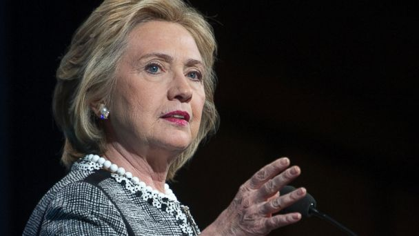 PHOTO: Former Secretary of State Hillary Rodham Clinton speaks in Washington, May 14, 2014.