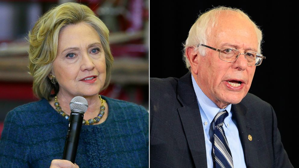 hillary clinton losing her national lead over bernie sanders poll