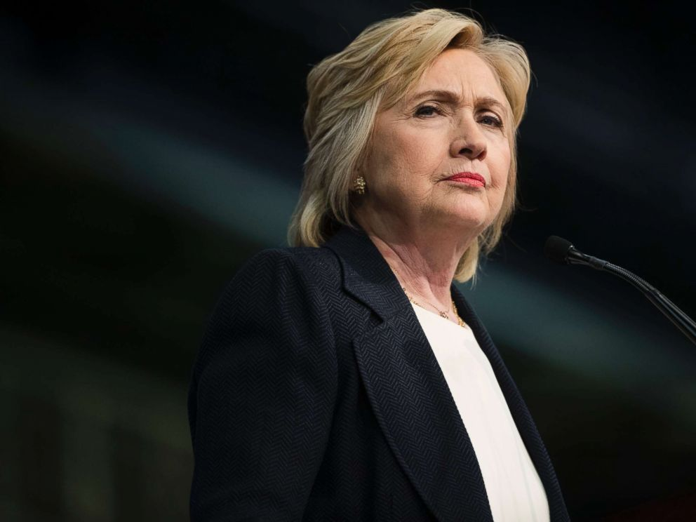 PHOTO: Democratic presidential candidate Hillary Clinton in Philadelphia, July 8, 2016.