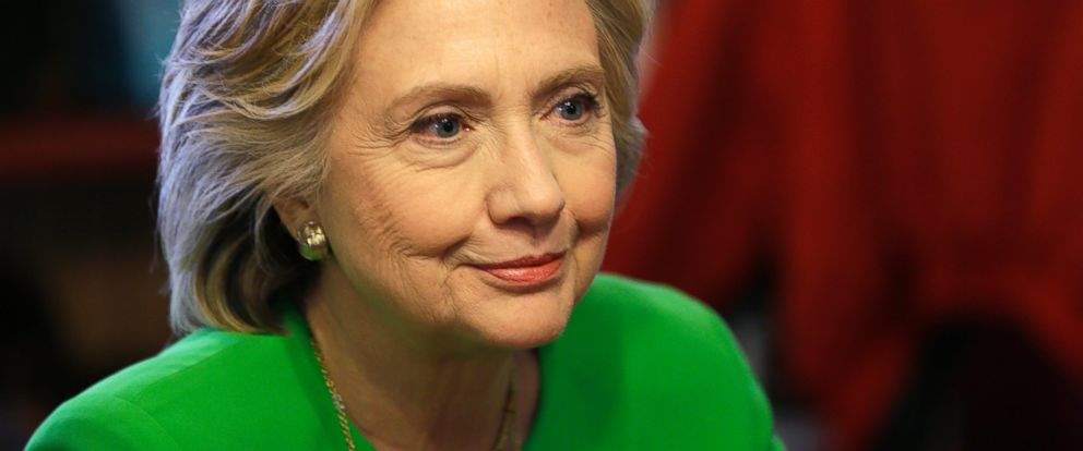 PHOTO: Democratic presidential candidate Hillary Rodham Clinton