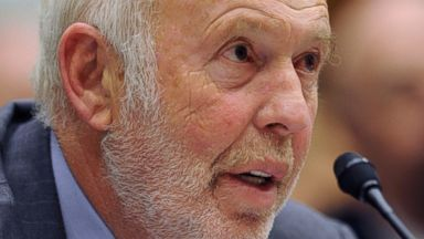 """PHOTO: Renaissance Technologies President James Simons testifies on Capitol Hill in Washington, Nov. 13, 2008, before the House Oversight and Government Reform Committee hearing on """"Hedge Funds and the Financial Market."""""""