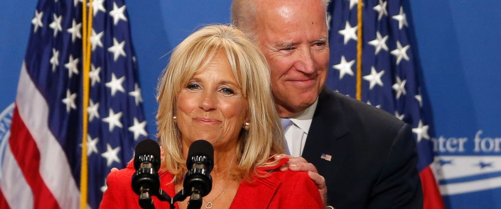 PHOTO: Jill Biden introduces her husband, Vice President Joe Biden, at The White House Summit on Working Families, in Washington, June 23, 2014.