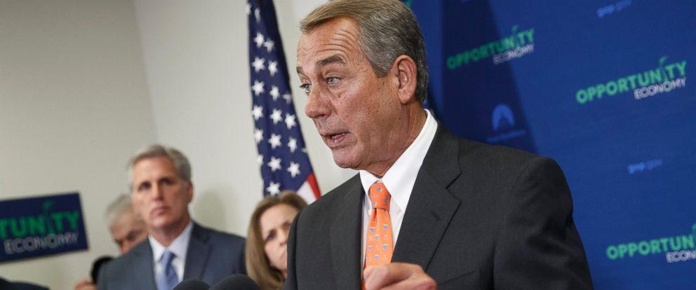 PHOTO: House Speaker John Boehner of Ohio