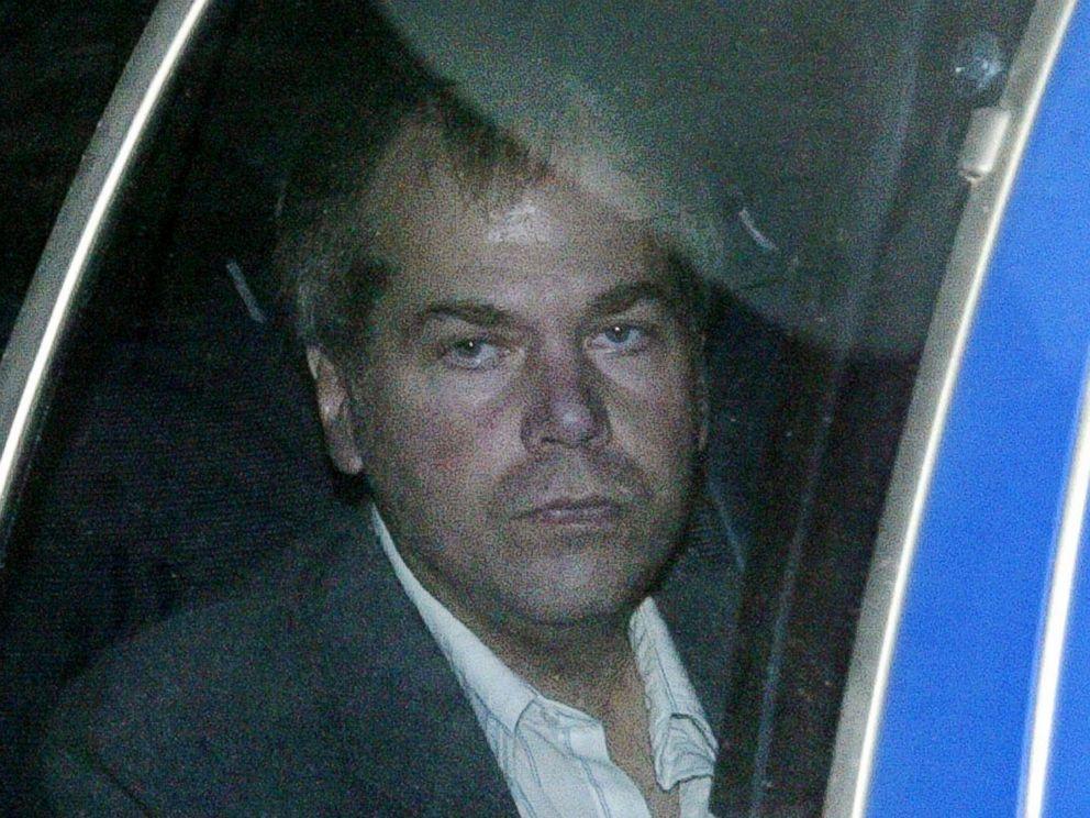 PHOTO: John Hinckley Jr. arrives at U.S. District Court in Washington, Nov. 18, 2003.