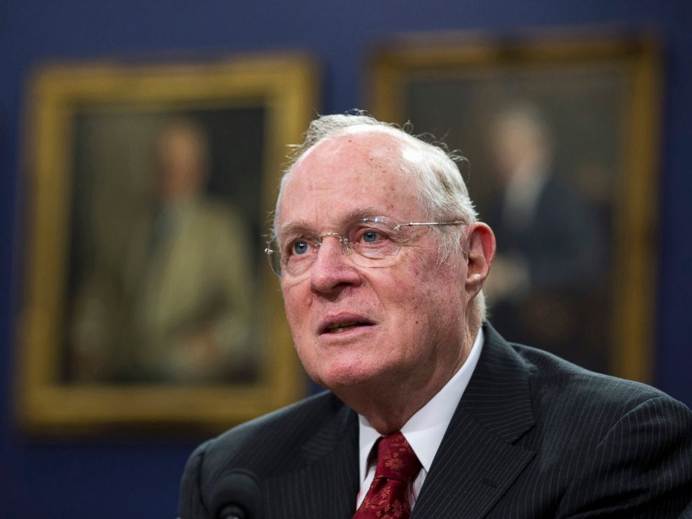 PHOTO: Supreme Court Associate Justice Anthony Kennedy testifies on Capitol Hill in Washington, March 23, 2015.