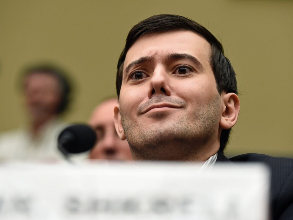 PHOTO: Pharmaceutical chief Martin Shkreli listens on Capitol Hill in Washington, Thursday, Feb. 4, 2016, during the House Committee on Oversight and Reform Committee hearing on his former companys decision to raise the price of a lifesaving medicine.