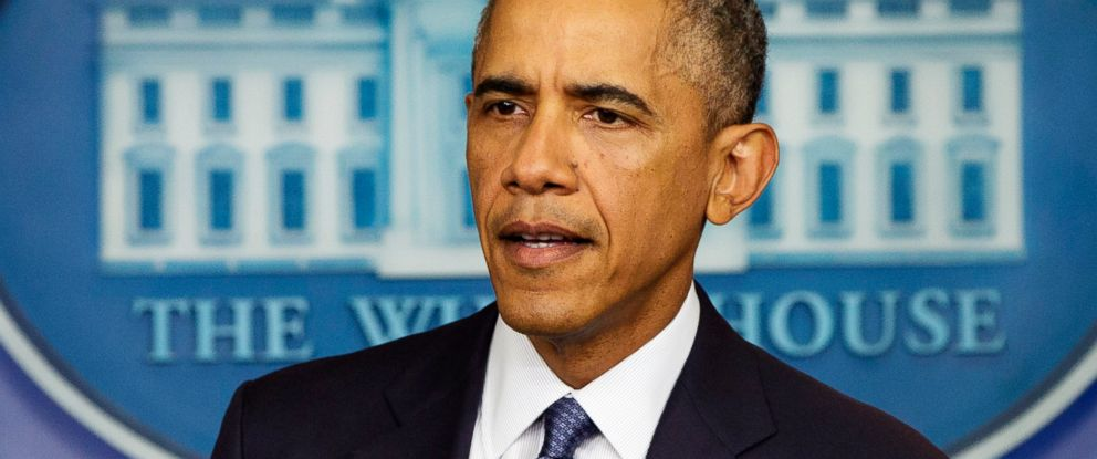 PHOTO: President Barack Obama speaks on various topics including immigration reform