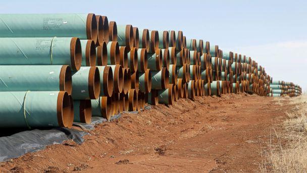 Keystone pipeline won't have to use American steel, despite Trump's repeated promises
