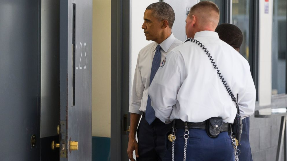 What President Obama Saw When He Visited a Federal Prison