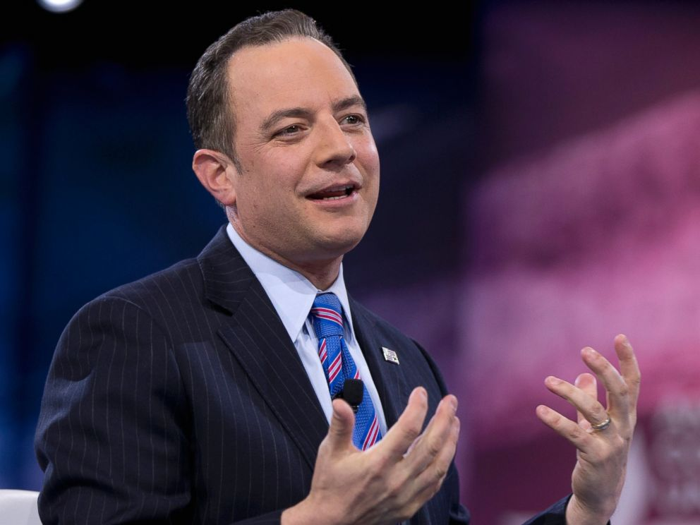 PHOTO: Republican National Committee Chairman Reince Priebus speaks in National Harbor, Md., March 4, 2016.