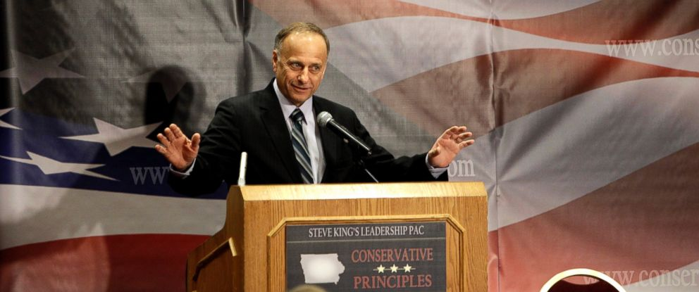PHOTO: U.S. Rep. Steve King, R-Iowa, speaks at the Conservative Principles Conference, March 26, 2011, in Des Moines, Iowa.