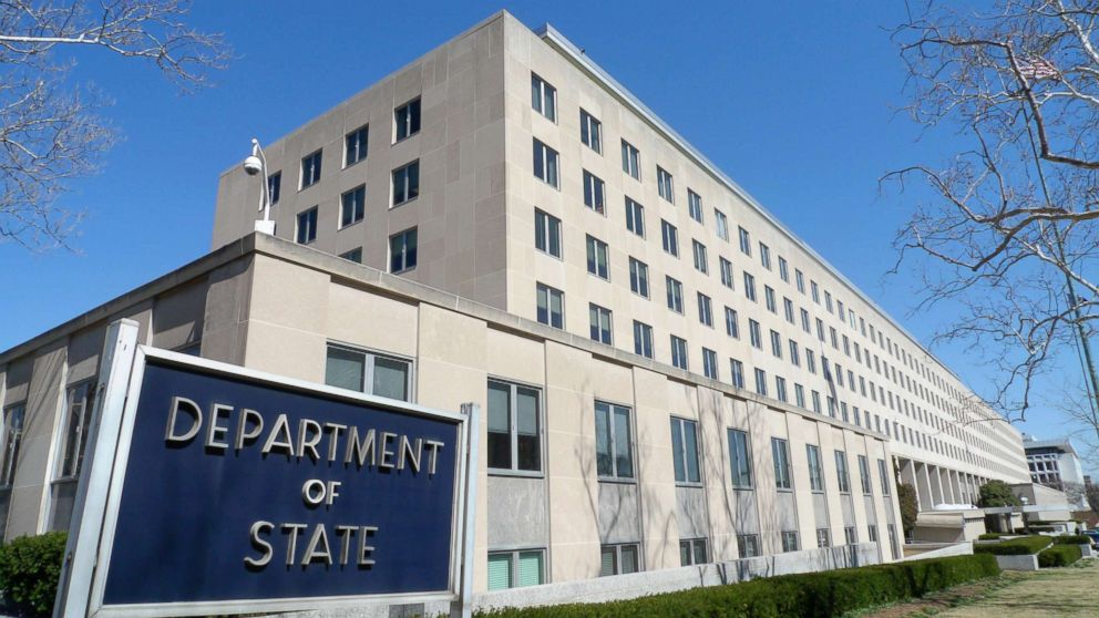 PHOTO: The Harry S. Truman Building, headquarters for the State Department, is seen in Washington, March 9, 2009.