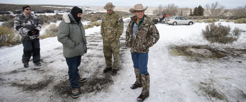 "PHOTO: Members of the group have been occupying the Malheur National Wildlife Refuge headquarters, Jan. 4, 2016, near Burns, Ore. The group has sent a ""demand for redress"" to local, state and federal officials."