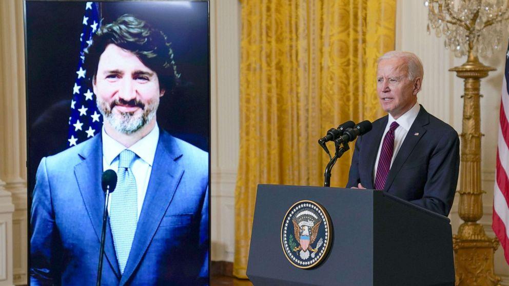 Trudeau tells Biden US leadership has been 'sorely missed'