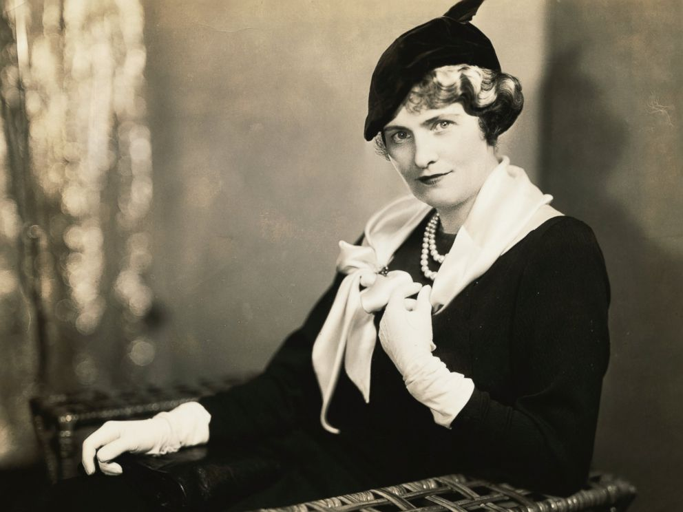 PHOTO: A portrait of Mrs. Marjorie Post Hutton, wife of U.S. Ambassador ca. 1935.