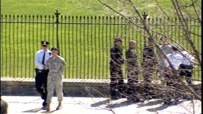 ABC News video of Lt. Dan Choi protesting Dont Ask Dont Tell at White House.