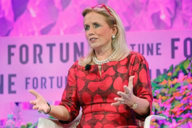 PHOTO: Rep. Debbie Dingell (D-Mich.) speaks onstage at the Fortune Most Powerful Women Summit - Day 3, Oct. 11, 2017, in Washington, D.C.