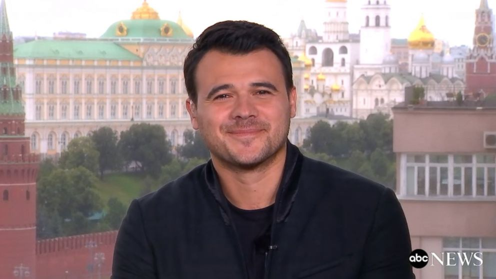 George Stephanopoulos interview with Russian pop star Emin Agalarov, who was behind Trump Tower meeting ...
