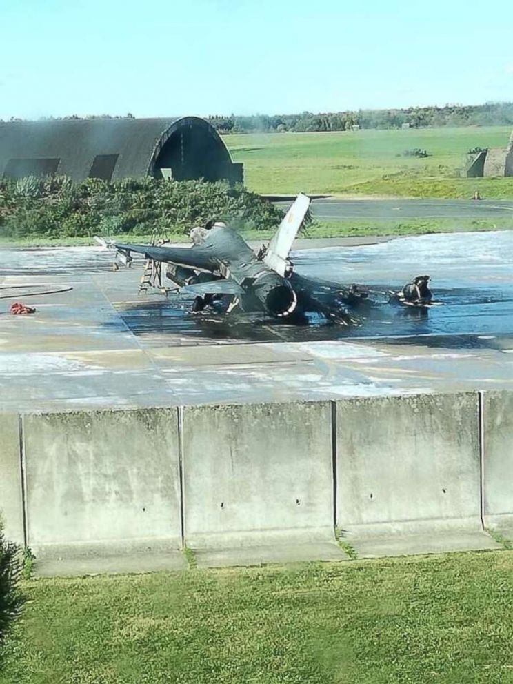 F-16 accidentally blown up by Belgian Air Force mechanic