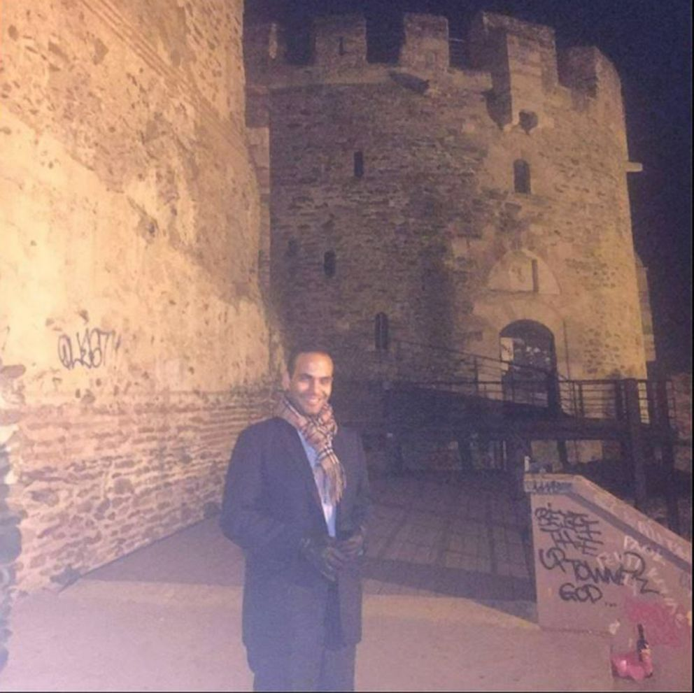 PHOTO: George Papadopoulos in a photo posted to his Facebook page.