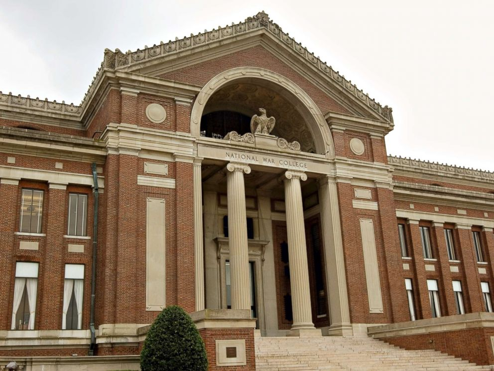 PHOTO: Theodore Roosevelt Hall, home of the National War College, at Ft. McNair in Washington, Sept. 9, 2008.