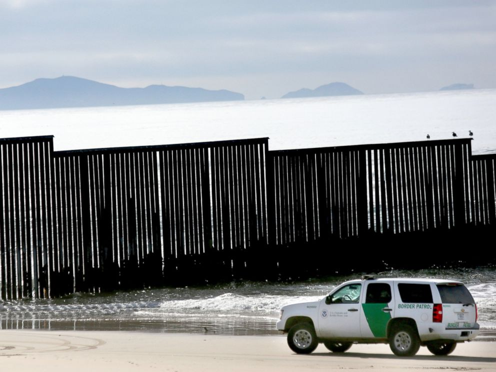PHOTO: The U.S.-Mexican border fence is seen at Friendship Park and Playas de Tijuana in San Ysidro, California on December 10, 2016.