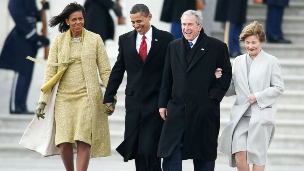 First on ABC George W Bush s Inauguration Day Letter to Barack