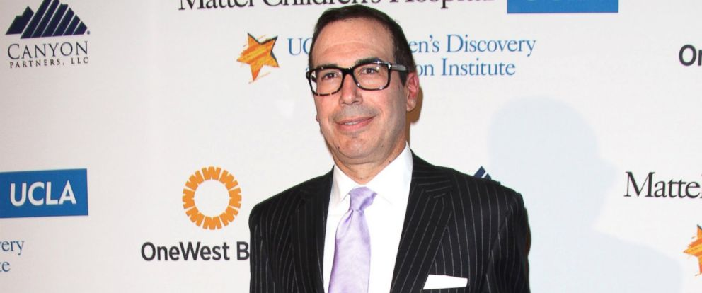 PHOTO: Honoree Steven Mnuchin attends the The Kaleidoscope Ball - Designing The Future held at the Beverly Hills Hotel, on April 17, 2013, in Beverly Hills, California.