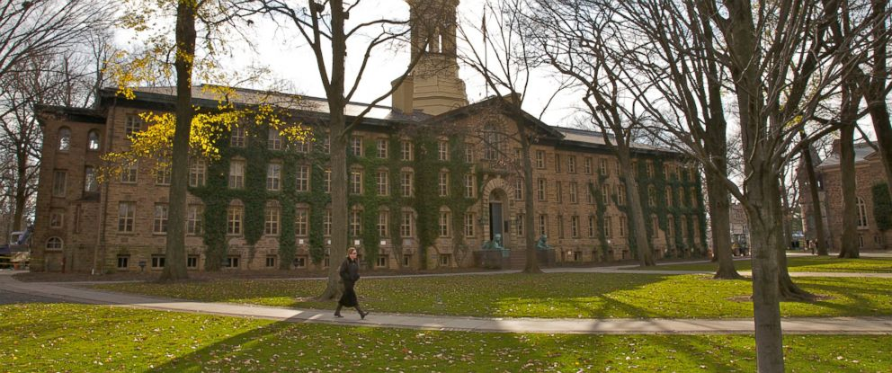 PHOTO: Nassau Hall at Princeton University in New Jersey is pictured in this undated stock photo.