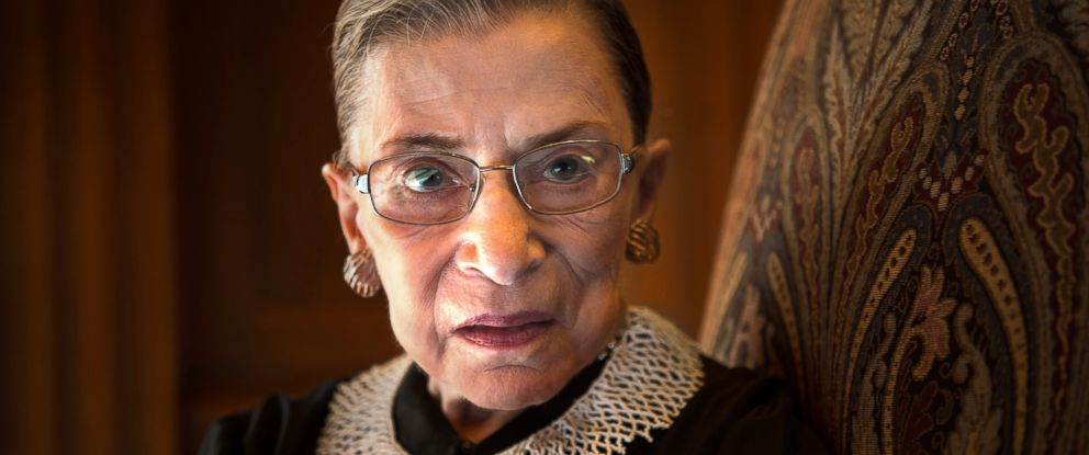 PHOTO: Supreme Court Justice Ruth Bader Ginsburg in Washington, Aug. 30, 2013.