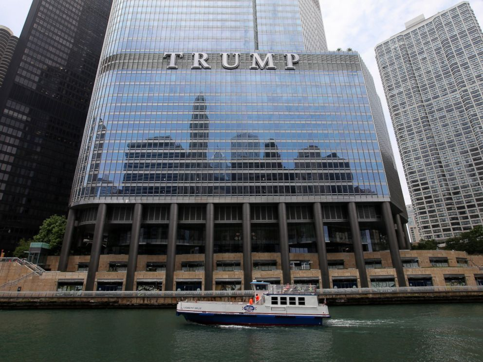 PHOTO: Trump International Hotel and Tower is seen here, June 19, 2014, in Chicago, Illinois.