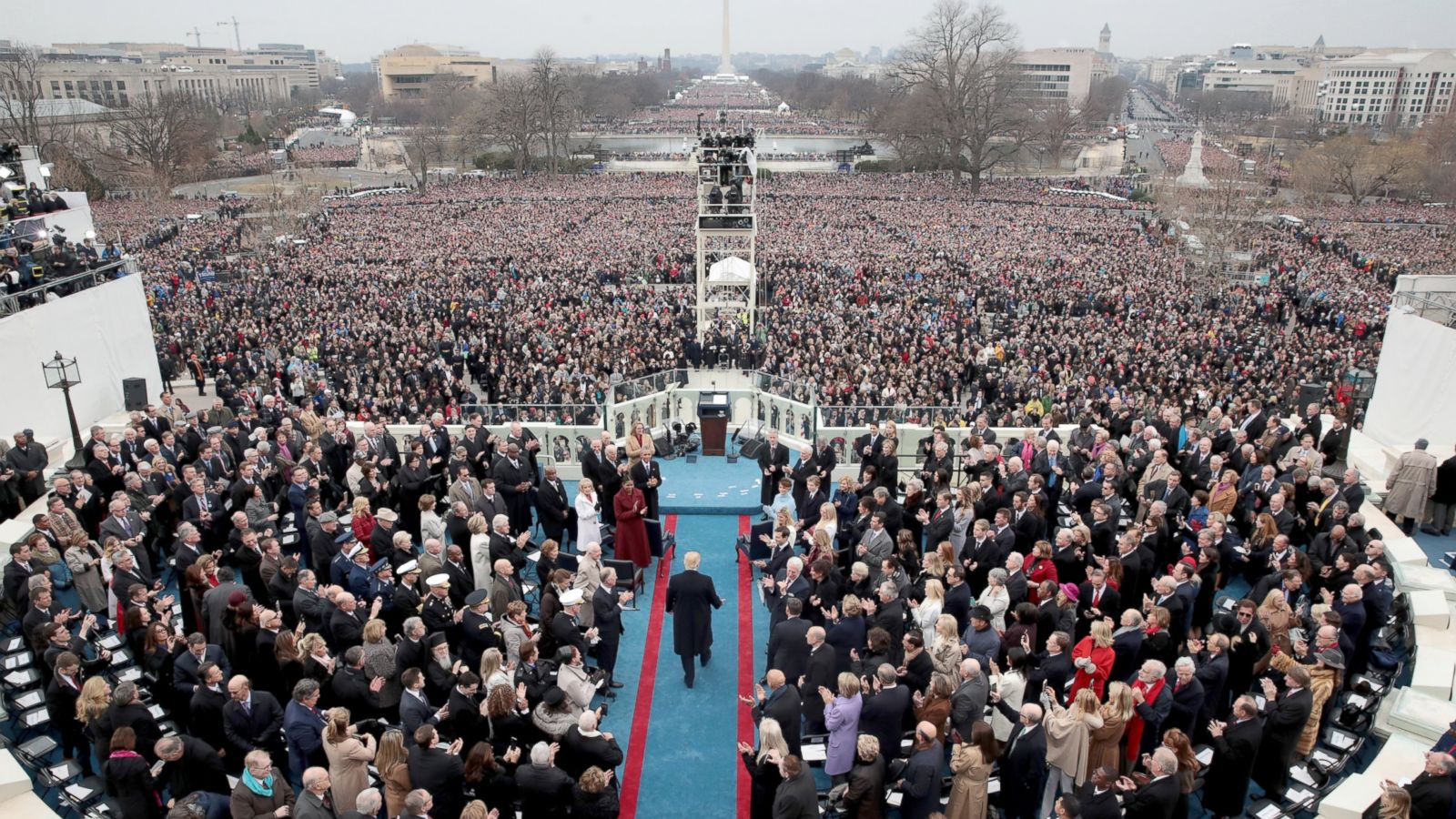 2009 Vs 2017 Comparing Trump S And Obama S Inauguration Crowds Abc News,4 Bedroom Mobile Home For Sale Alberta