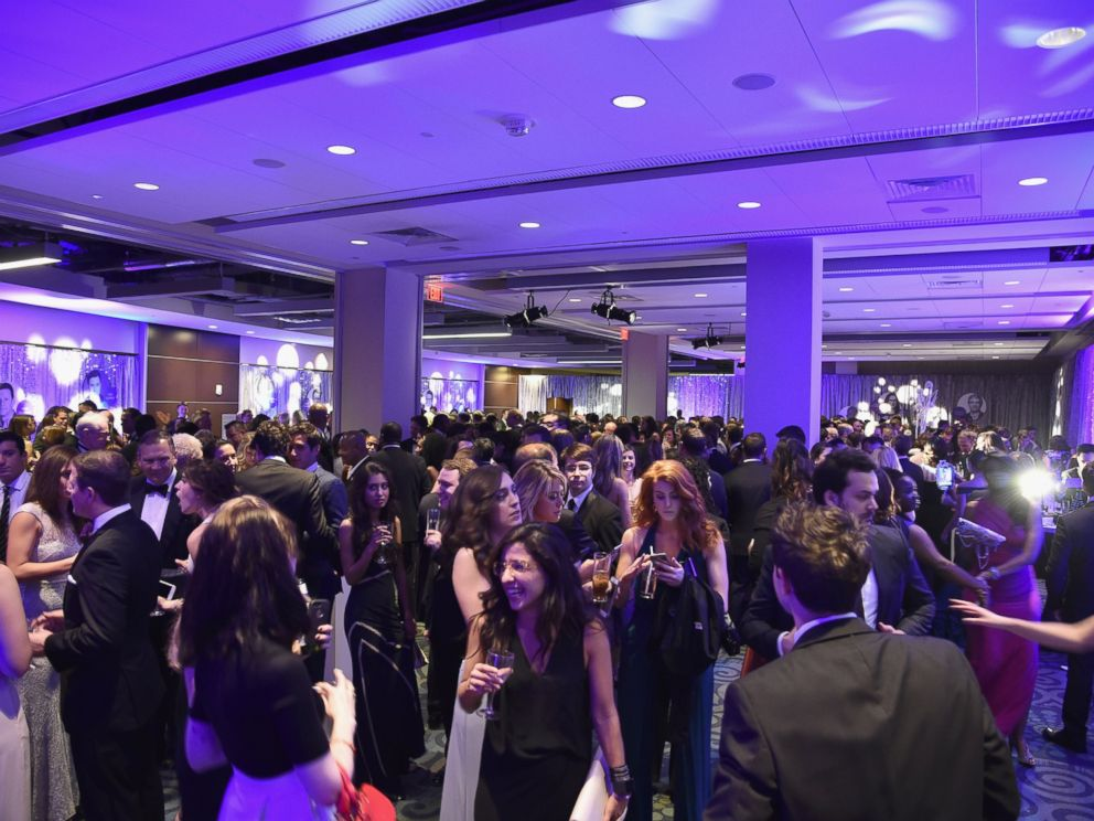 PHOTO: Guests attend the Yahoo News/ABC News White House Correspondents Dinner pre-party at Washington Hilton on April 30, 2016, in Washington.