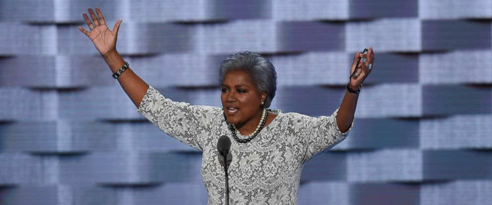 PHOTO: DNC Vice-Chair Donna Brazile speaks during Day 2 of the Democratic National Convention, July 26, 2016 in Philadelphia.