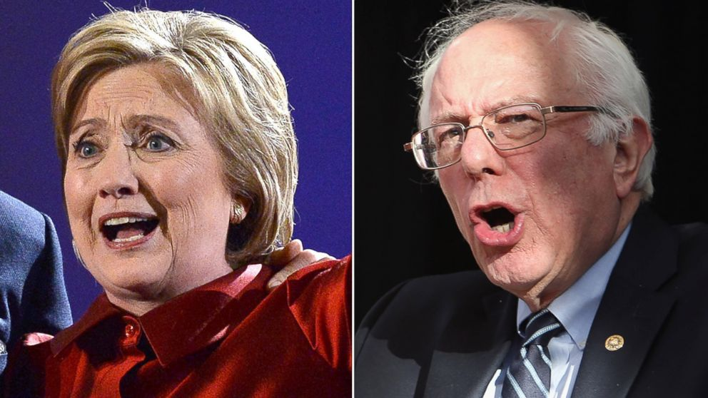 a review of the democratic debate between hillary clinton and bernie sanders Ratcheting up the rancor, hillary clinton and bernie sanders tangled aggressively in a democratic presidential debate sunday night over trade, wall street influence and more, with clinton accusing him of.