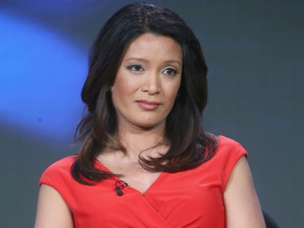 PHOTO: Correspondent CBS News Elaine Quijano speaks onstage during the CBSN panel discussion at the CBS/ShowtimeTelevision Group portion of the 2015 Winter TCA Tour at the Langham Huntington Hotel, Jan. 12, 2016, in Pasadena, California.