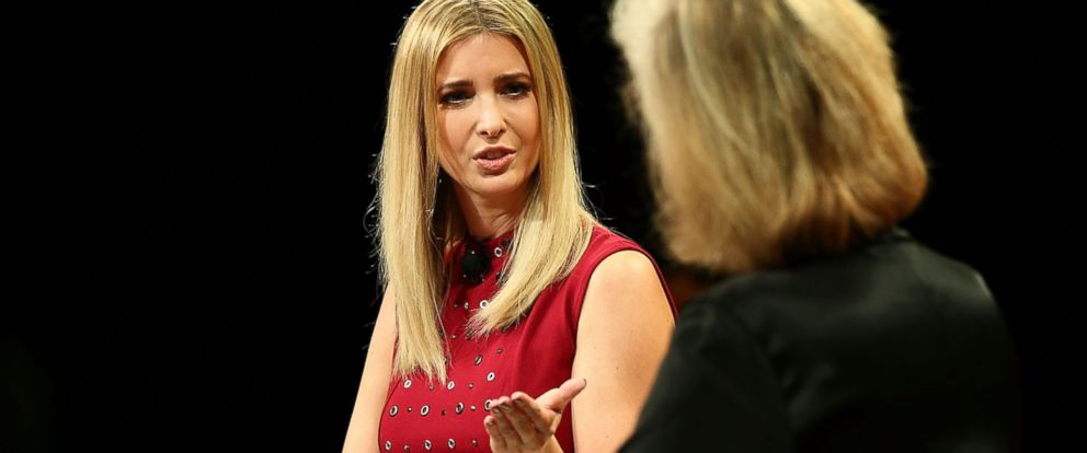 PHOTO: Ivanka Trump and Nancy Gibbs speak onstage at the Fortune Most Powerful Women Summit 2016 at Ritz-Carlton Laguna Niguel, on Oct. 19, 2016, in Dana Point, California.