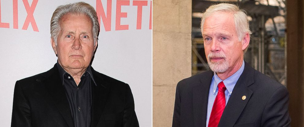 """PHOTO: Martin Sheen attends Netflixs """"Grace & Frankie"""" Q&A screening event, May 26, 2015, in West Hollywood, California. Sen. Ron Johnson leaves the Senate Republicans lunch in the Capitol, Dec. 2, 2015."""