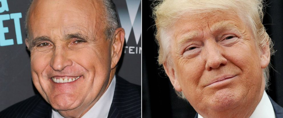 "PHOTO: Former Mayor of New York City Rudy Giuliani attends the premiere of ""Sing Street"" hosted by The Weinstein Company at Metrograph on April 12, 2016 in New York City 