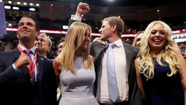 Donald Trump's Family Played Starring Role in Republican National Convention