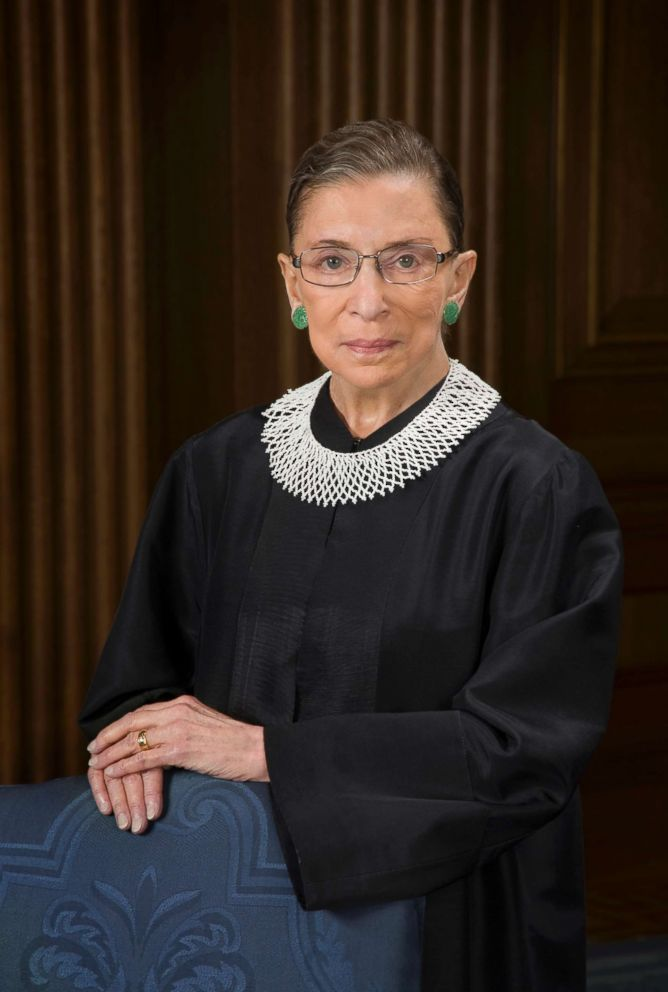 Photo Supreme Court Justice Ruth Bader Ginsburg