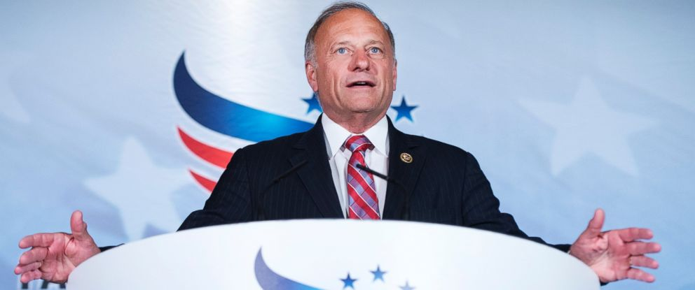 PHOTO: Rep. Steve King, R-Iowa, addresses the Faith & Freedom Coalitions Road to Majority conference which featured speeches by conservative politicians at the Omni Shoreham Hotel, June 18, 2015.