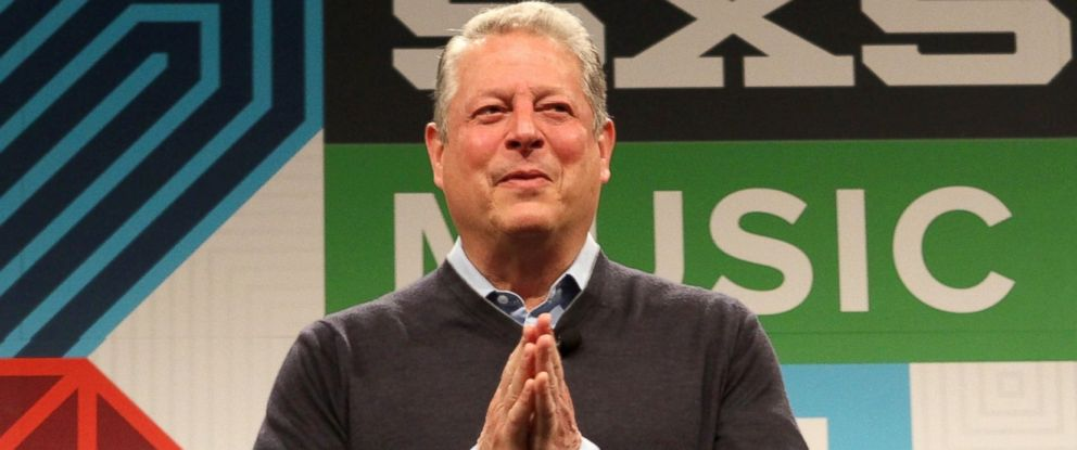 PHOTO: Al Gore speaks onstage at the Al Gore panel discussion during the 2015 SXSW Music, Film + Interactive Festival at Austin Convention Center, March 13, 2015, in Austin, Texas.
