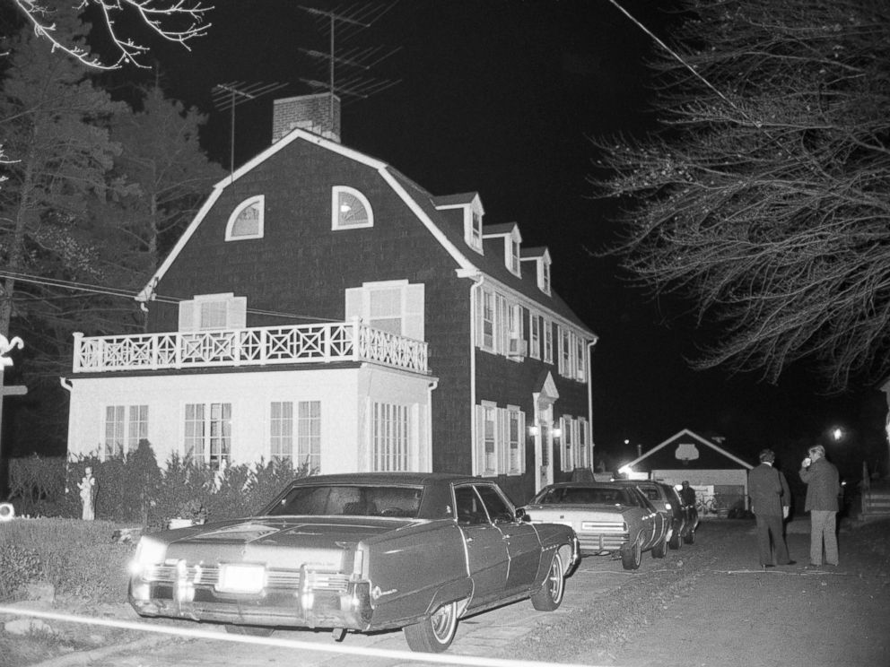 PHOTO: A view of the home of Ronald DeFeo Sr., the car salesman, his wife, two daughters and two sons were found shot to death on Nov. 11, 1974 is seen here.