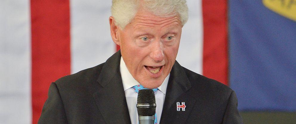 PHOTO: Former President Bill Clinton speaks at the Community Family Life & Recreation Center at Lyon Park, Sept. 6, 2016 in Durham, North Carolina.