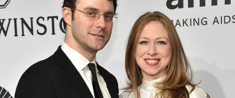 PHOTO: Marc Mezvinsky and Chelsea Clinton attend the 2015 amfAR New York Gala at Cipriani Wall Street, Feb. 11, 2015 in New York City.