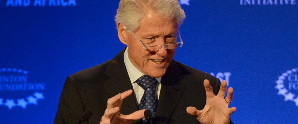 PHOTO: Bill Clinton delivers a speech during the opening session of the CGI Middle East and Africa on May 6, 2015 in Marrakesh, Morocco.