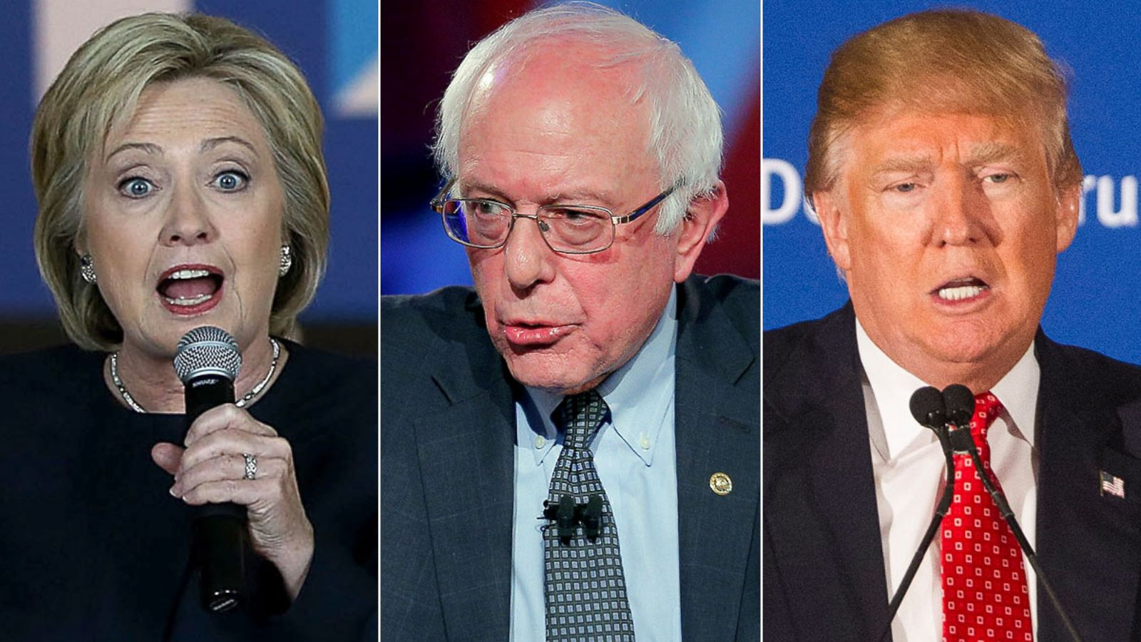 This Week' Transcript: Hillary Clinton, Sen. Bernie Sanders and Donald Trump  - ABC News