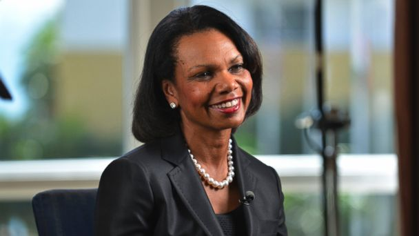 PHOTO: Condoleezza Rice speaks during a Bloomberg Television interview at the Everest Capital Emerging Market Forum, in Miami, Fla. on Thursday, March 7, 2013.
